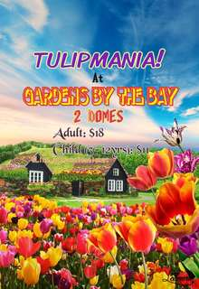 GARDENS BY THE BAY (2 DOMES)- TULIPMANIA!