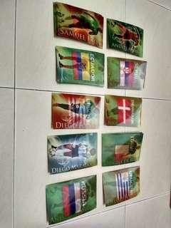 Kad Piala Dunia Maxis Rm5/pcs