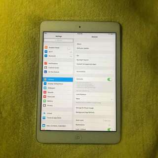IPad Mini 1 16gb Wi-Fi