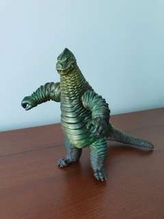"Genuine Made In Japan Gozilla by Bandai 7"" tall"