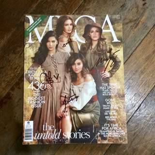Signed Mega Magazine Special September 2014 Issue