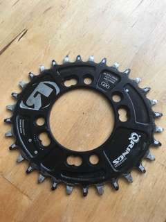 Rotor QX1 chainring 32t 76BCD