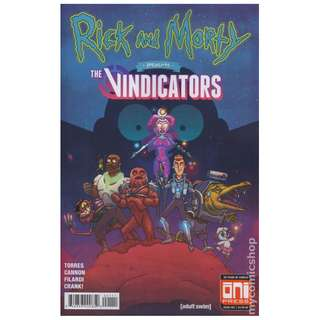 Rick and Morty Presents The Vindicators (  1st app of Pickle Rick )