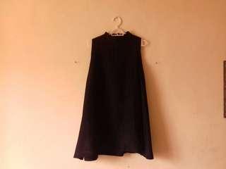 Turtlenect Sleveless Dress