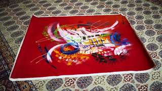 Canvas painting from Bandung Indonesia