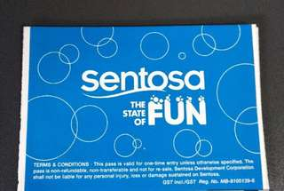 Senstosa attraction