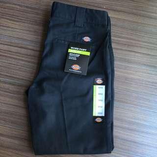 Dickies 872 black work pants chinos