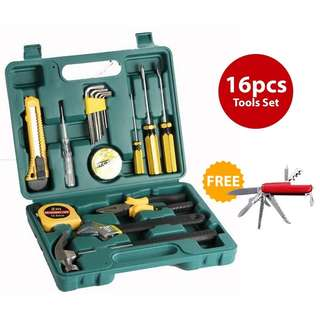 16 in 1 handtools hardware set kits