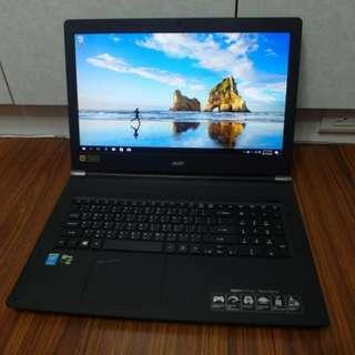 【出售】ACER VN7-791G 17.3吋 電競筆電