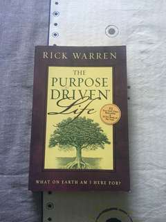 Christian Books- The Purpose Driven Life