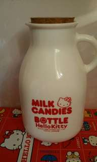 Hello Kitty 陶瓷牛奶樽 絕版