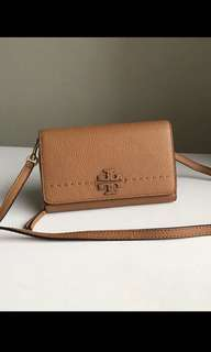 Original Tory Burch women sling bag wallet wristlets clutch