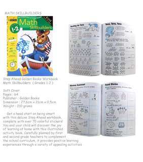 Step Ahead Little Golden Books Math Skillbuilders (grade 1-2)
