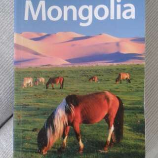 Mongolia travel book