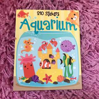 210 Mini Stickers <Aquarium>