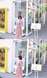 正韓 洋裝 長裙