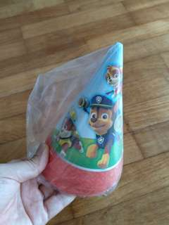 Paw Patrol Party Cone Hat