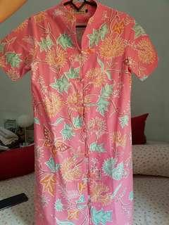 Dress batik - pink