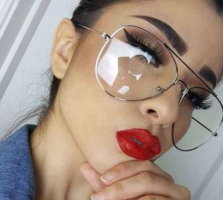 Readystock retro Oversized clear transparent Sunglasses glasses 70s 80s 90s Tumblr Instagram  baddie vintage retro shades sunnies 70s 80s 90s Korean harajuku