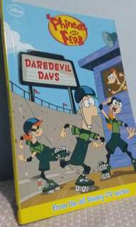 Phineas And Ferb - Daredevil  Days