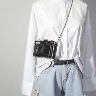 🚚 時尚硬殼相機包側背小方包