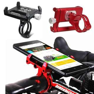 GUB Adjustable Alloy Bicycle/Scooter Holder Motorcycle Handle Phone Mount Handlebar Extender Phone Holder