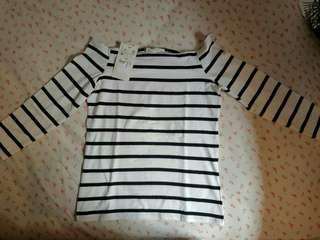 Zara sabrina shirt