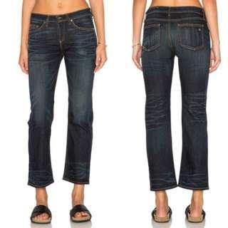 美國精品AG&BONE直筒牛仔褲