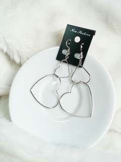 Anting Double Love