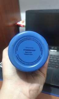 Starbucks tumbler blue steel