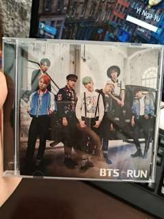 BTS RUN limited edition