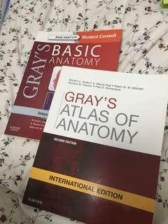 Gray's Anatomy Books