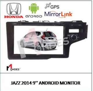 Honda Jazz Android system Plug and Play