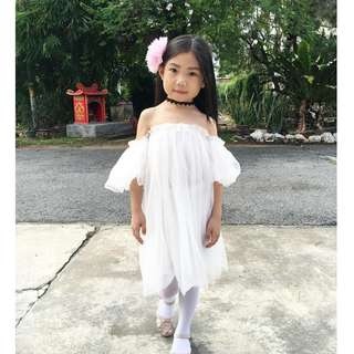 Girls Gauze Dress