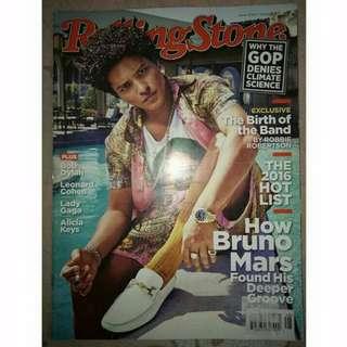 Bruno Mars Rolling Stones Magazine