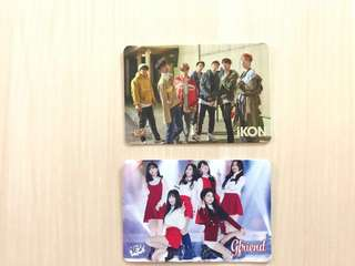 Yescard IKON GIRLFRIEND