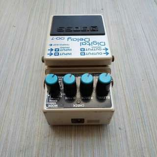 Guitar effects Boss Digital Delay DD7 negotiable