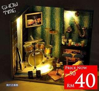 DIY Music Studio RM40 Size 14.5 x 17 x 13.5cm