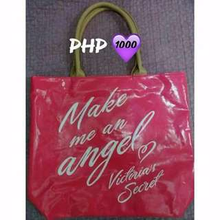 Victoria's Secret Limited Edition Make Me An Angel Pink Tote bag