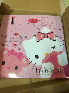 BNIB! Official Sanrio Large Hello Kitty Square Wall Clock