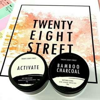 28Street's 100% Organic Facial Mask