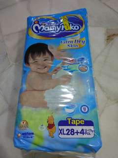Mamypoko Extra Dry Skin XL 32pcs
