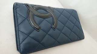 Chanel wallet 100% authentic 75% new