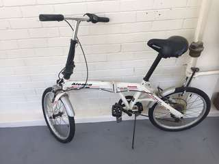 Bi-fold bicycle