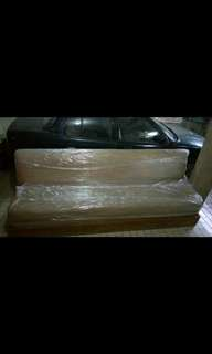 Huge leather sofa