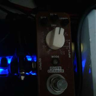 Guitar effects Mooer Pure Octave
