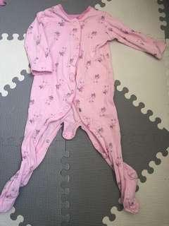 Baby Girl Sleep Suit