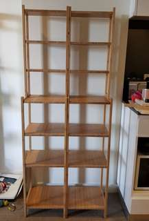 🚨FLASH SALE🚨IKEA wooden free-standing shelves $30 each
