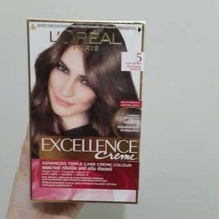 Loreal Excellence Creme (Light Brown no 5)