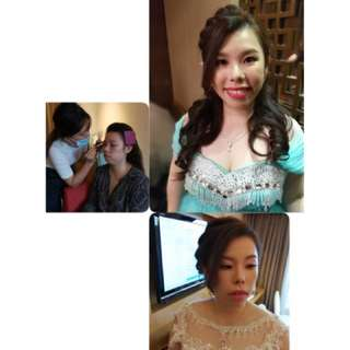 Bridal Makeup&hairdo